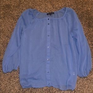 Violet and Claire button down blouse small